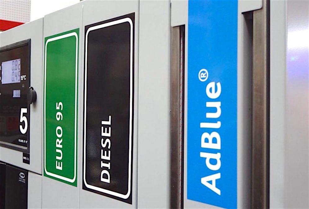Adblue verwijder oplossing systeem ecu